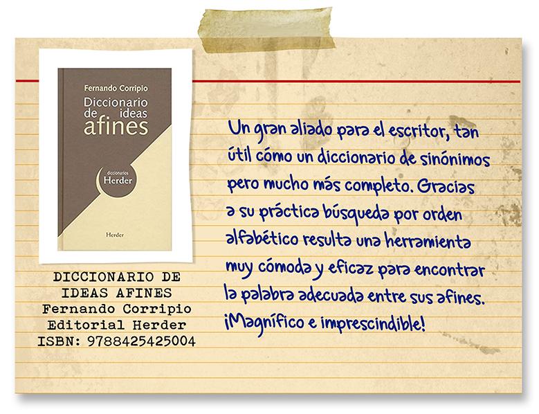 diccionario de ideas afines de Fernando Corripio