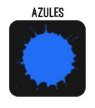 BOTON AZULES