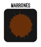 BOTON MARRONES