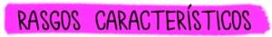 rasgos característicos lila