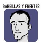 barbillas y frentes